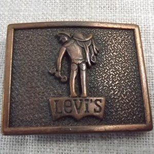 Levi's Western Rodeo Wear Belt Buckle